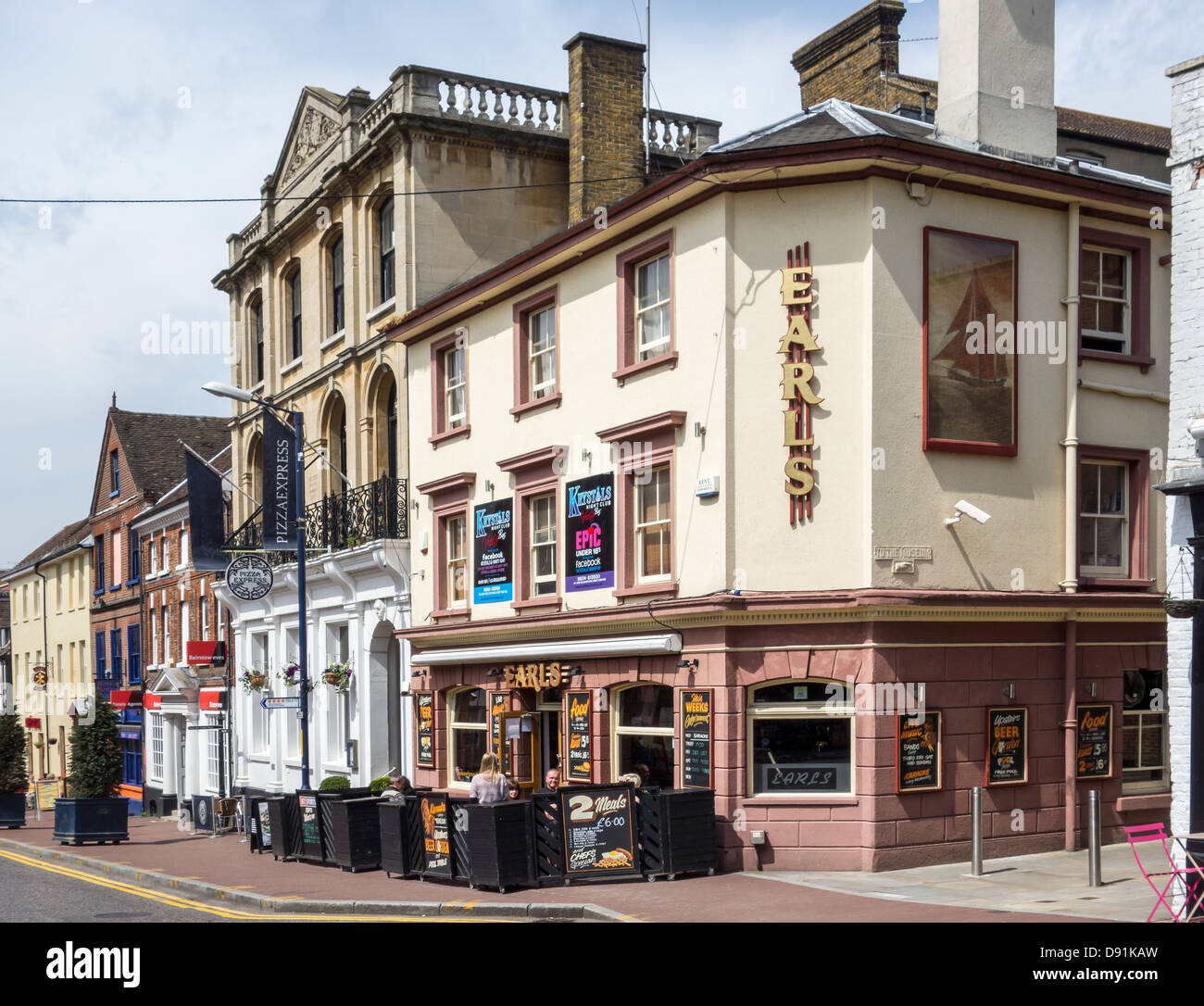 Earls Pub and Music Venue Maidstone - Stock Image