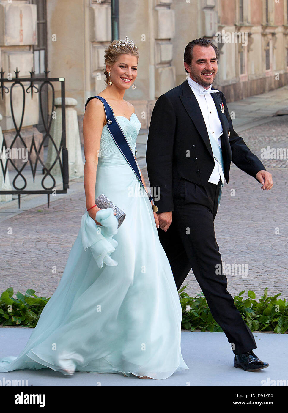 Prince Nikolaos Princess Tatiana Greece Stock Photos & Prince ...
