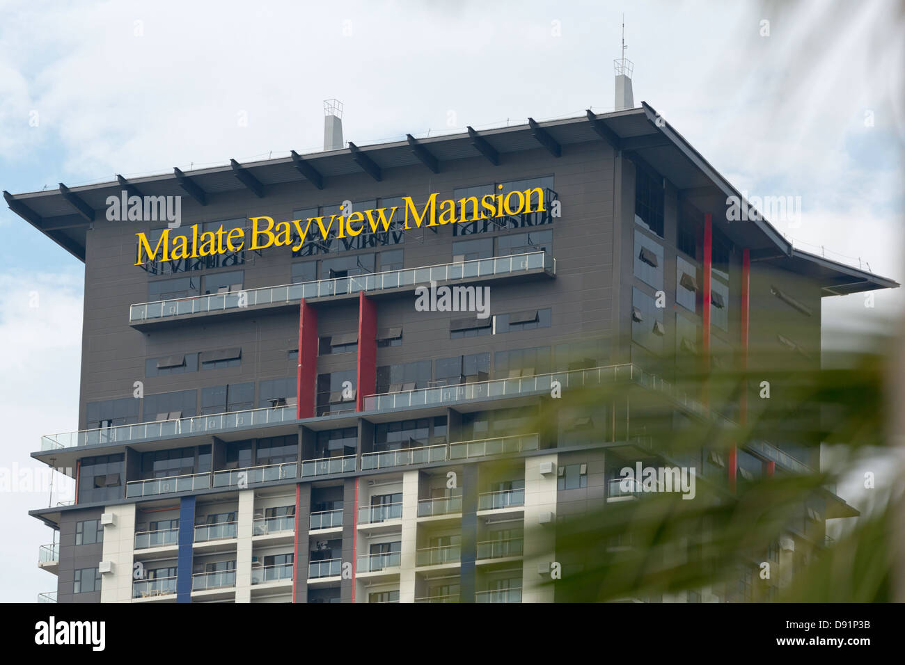 Modern House Facade In Manila Philippines Stock Photo 57202303 Alamy