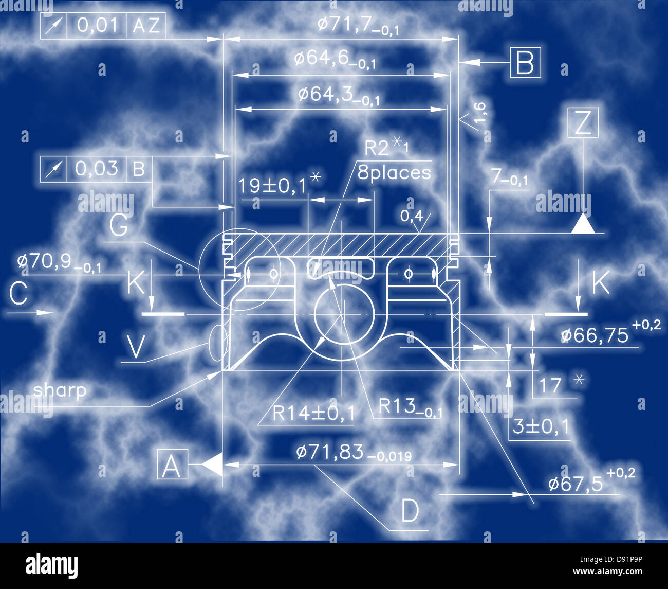 Internal Combustion Engine Diagram Stock Photos Design Drawings Of Nonexistent Piston Clipping Path Image