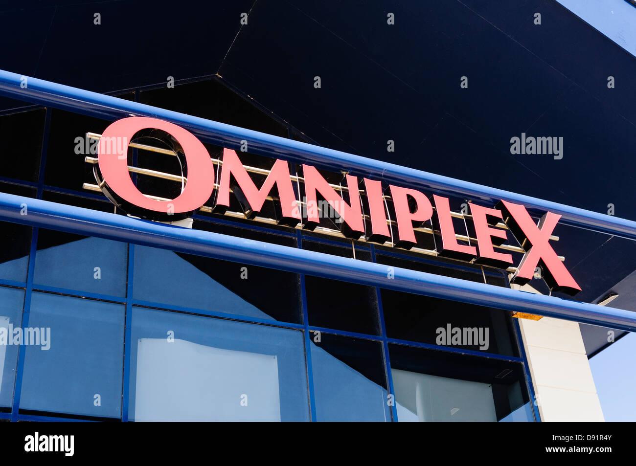 Omniplex cinema - Stock Image