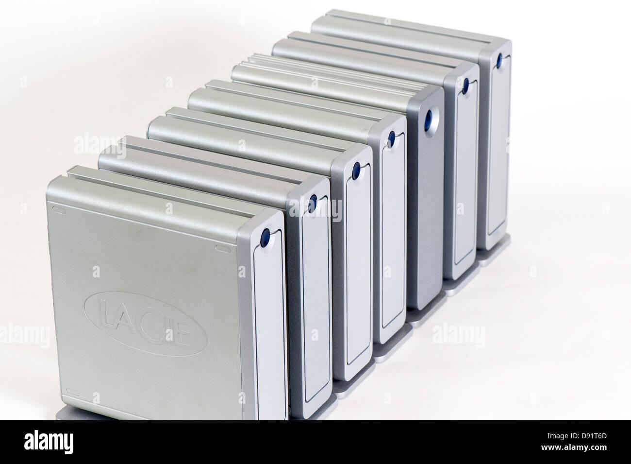 hard drive memory - Stock Image