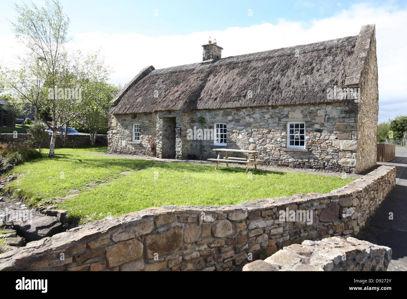 poets cottage camross ireland - Stock Image