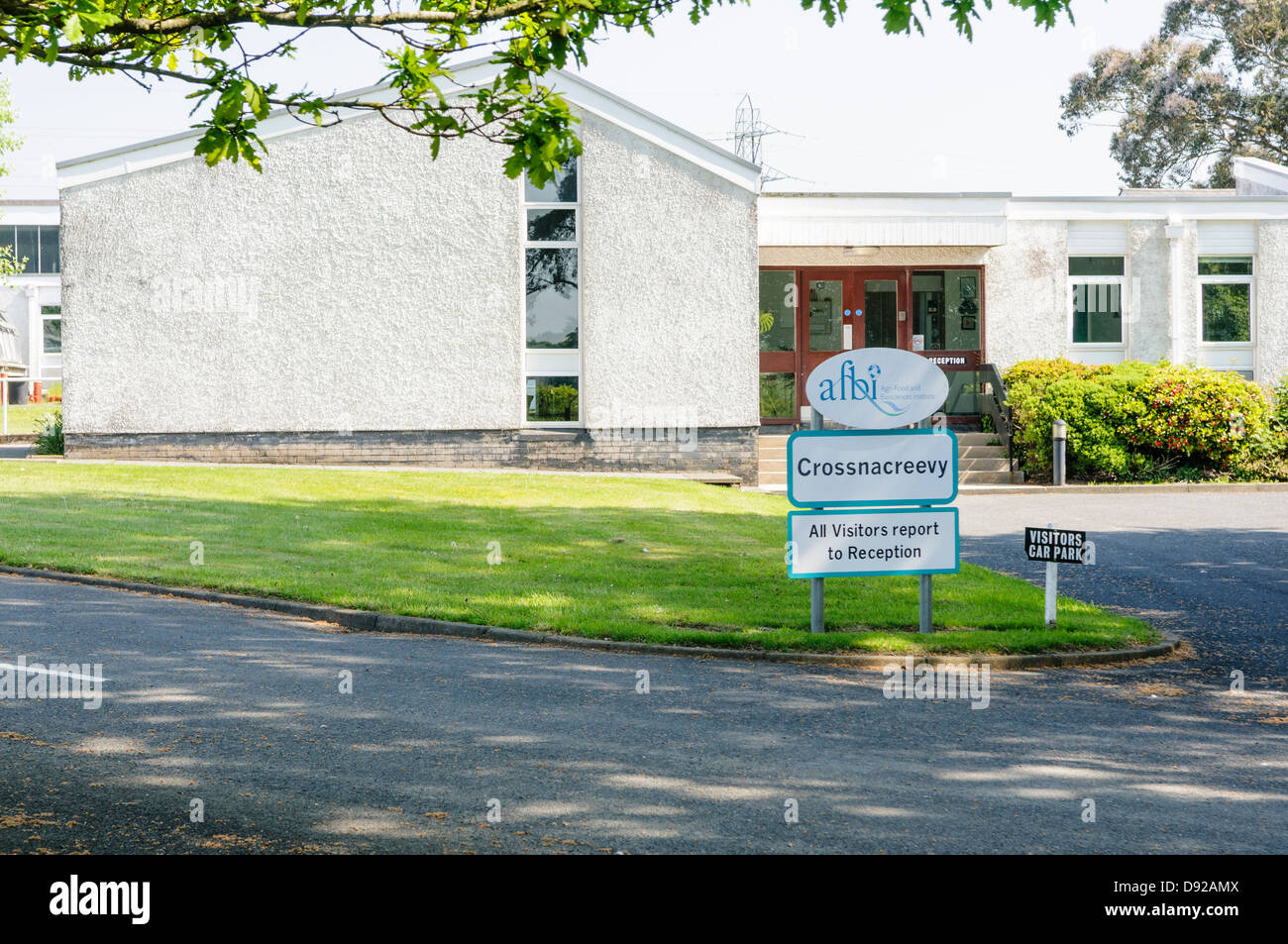 Department of Agriculture Northern Ireland Plant testing facility at Crossnacreevy - Stock Image