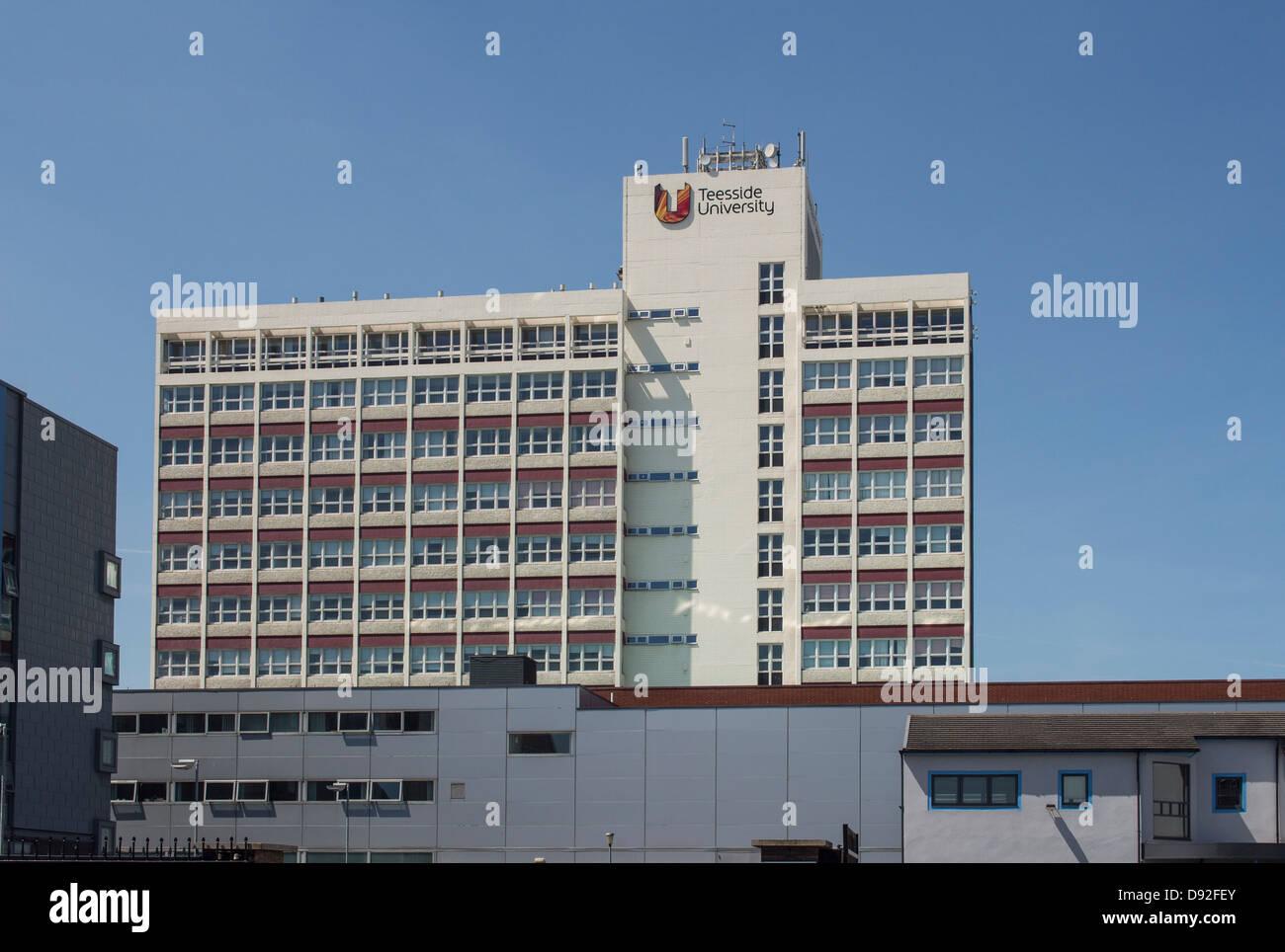 Teeside University Middlesbrougn UK - Stock Image