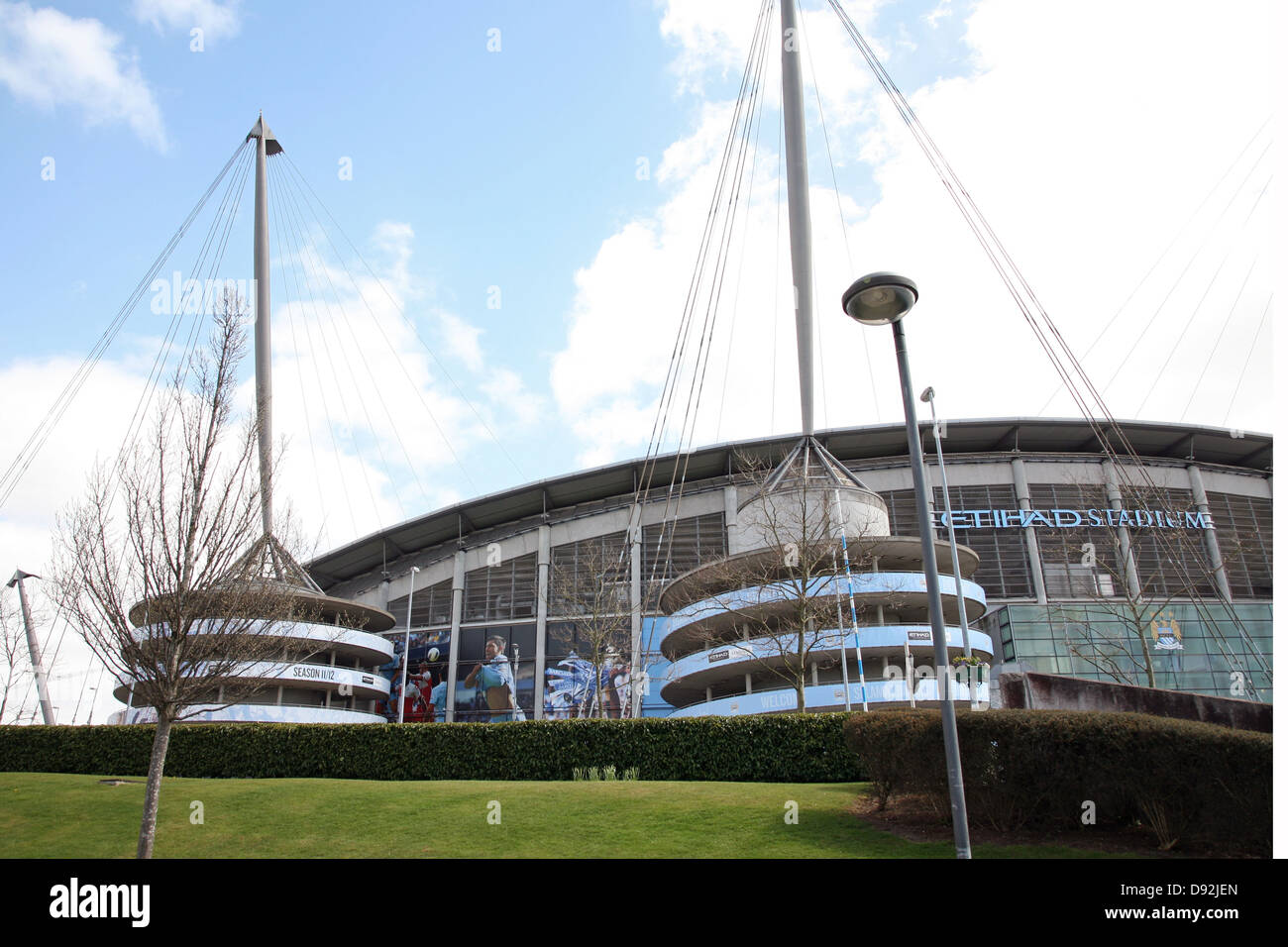 City Of Manchester Stadium: Manchester City Stadium Stock Photos & Manchester City
