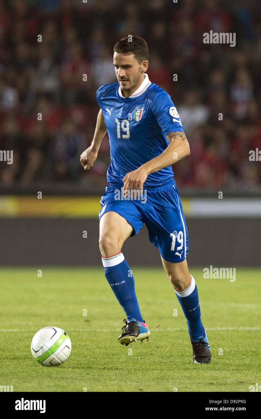 Leonardo Bonucci (ITA), JUNE 7, 2013 - Football / Soccer : FIFA World Cup Brazil 2014 Qualifier European Zone Group - Stock Image