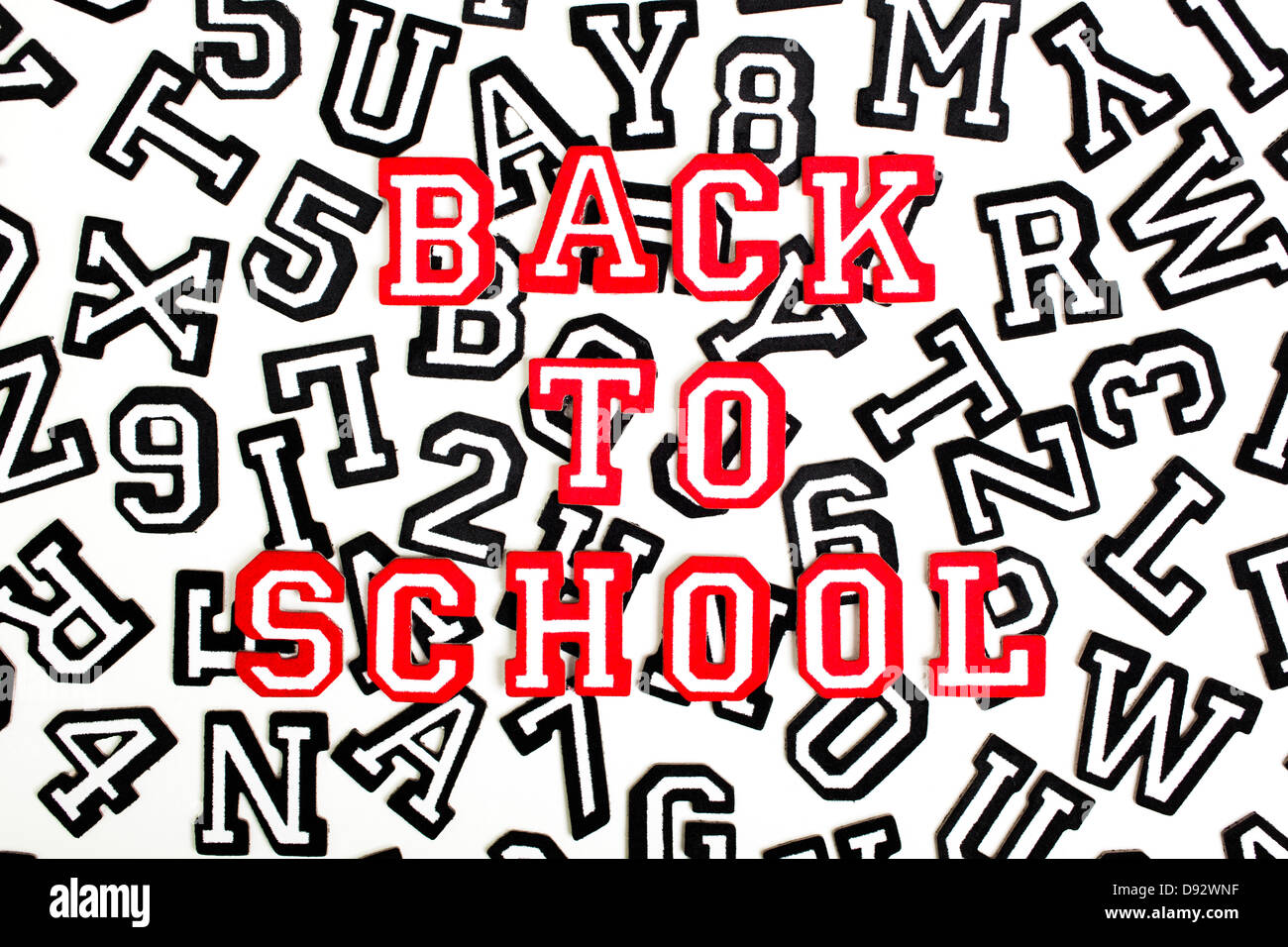 Outlined Letters Stock Photos & Outlined Letters Stock Images - Alamy