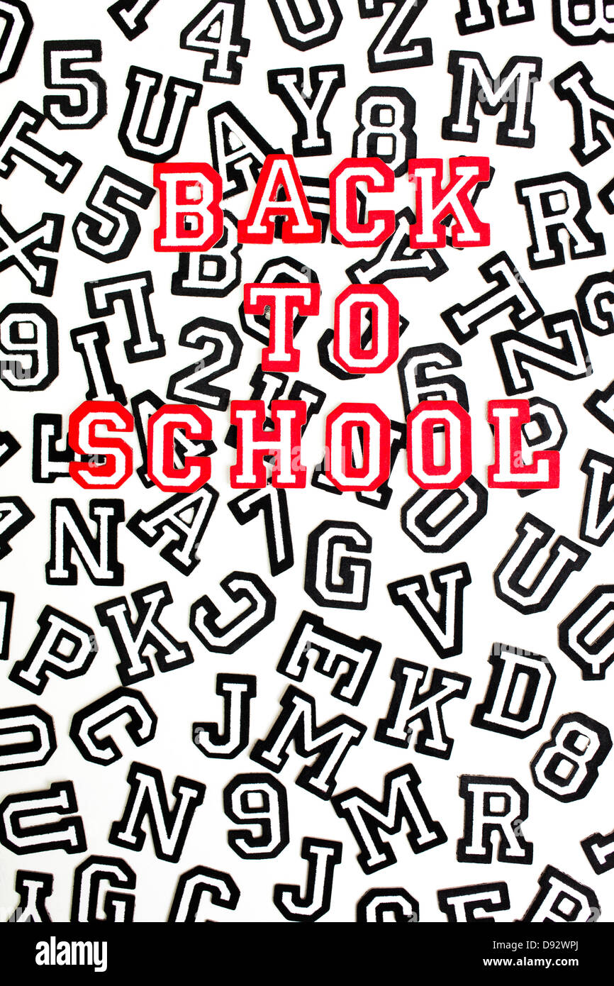 Outlined Letters Stock Photos & Outlined Letters Stock