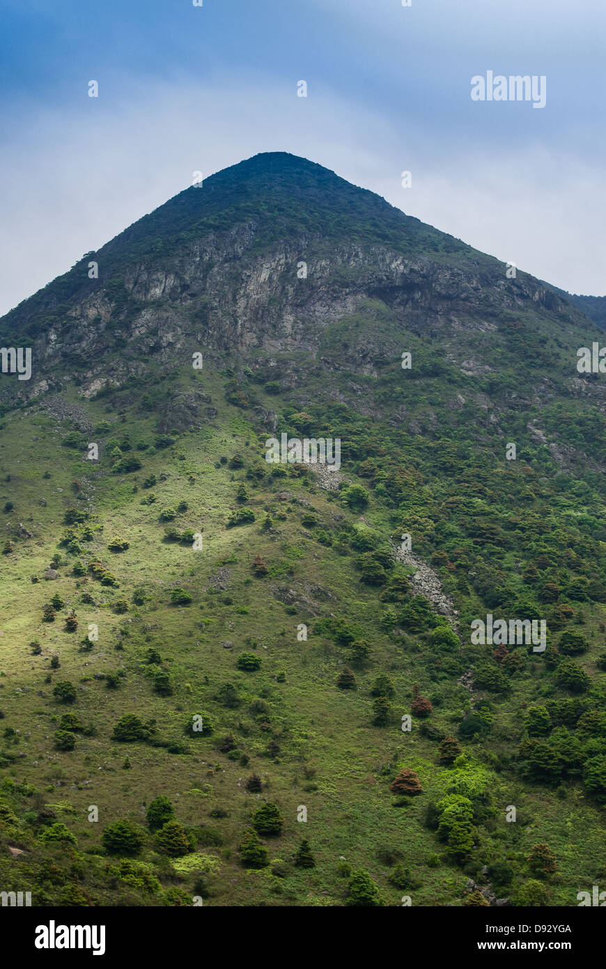 Lantau Peak - Stock Image
