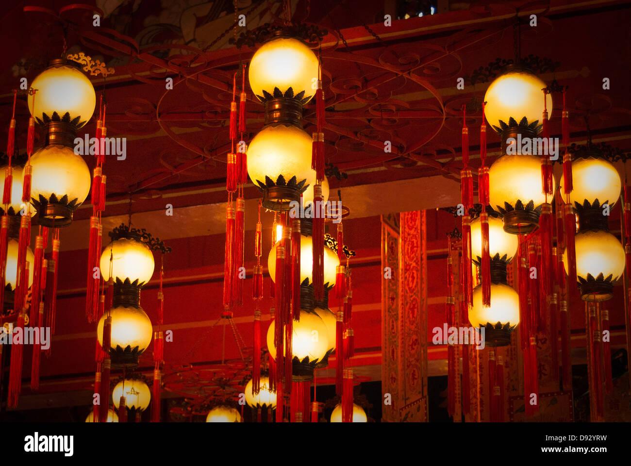 Po Lin Monastery Stock Photo