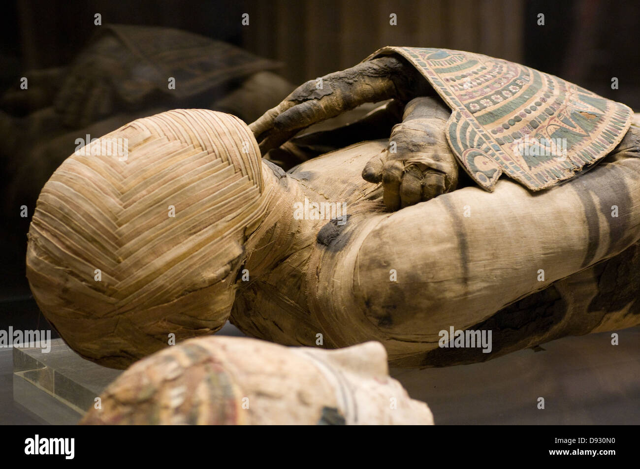 Pharaonic Egypt The mummy Embalming and funeral Louvre Museum Paris - Stock Image