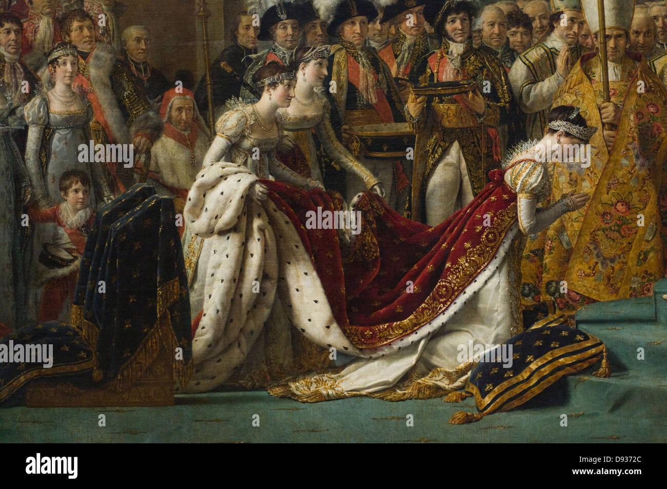 jacqueslouis david le sacre de napol233on the coronation