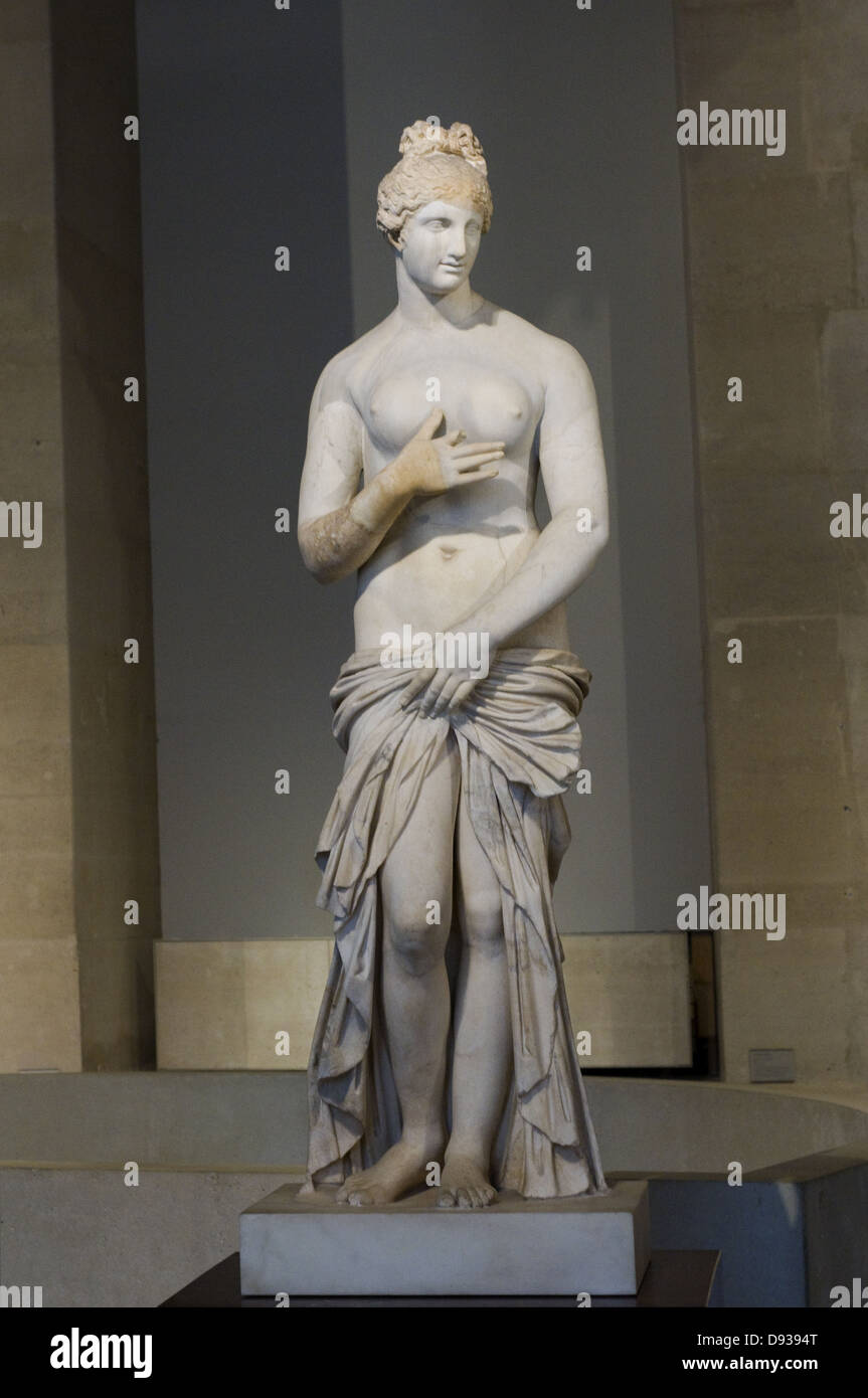 Lorenzo Bartoloni Dircé Marble 1824 XIX th Century Italian school Louvre Museum - Paris - Stock Image