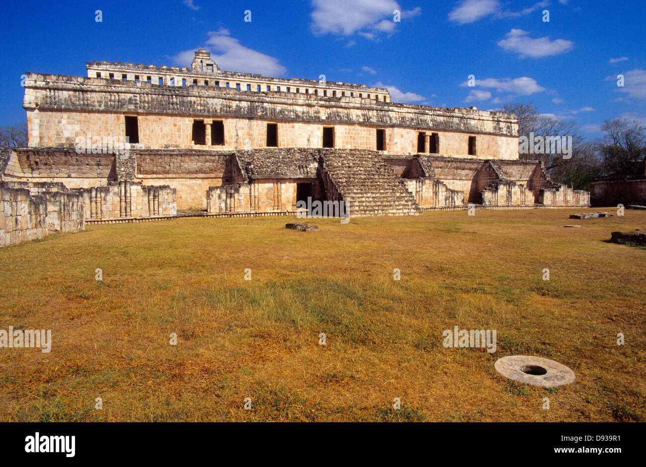 Kabah Palace.Mayan ruins. Puuc Route.Yucatan.Mexico. Stock Photo