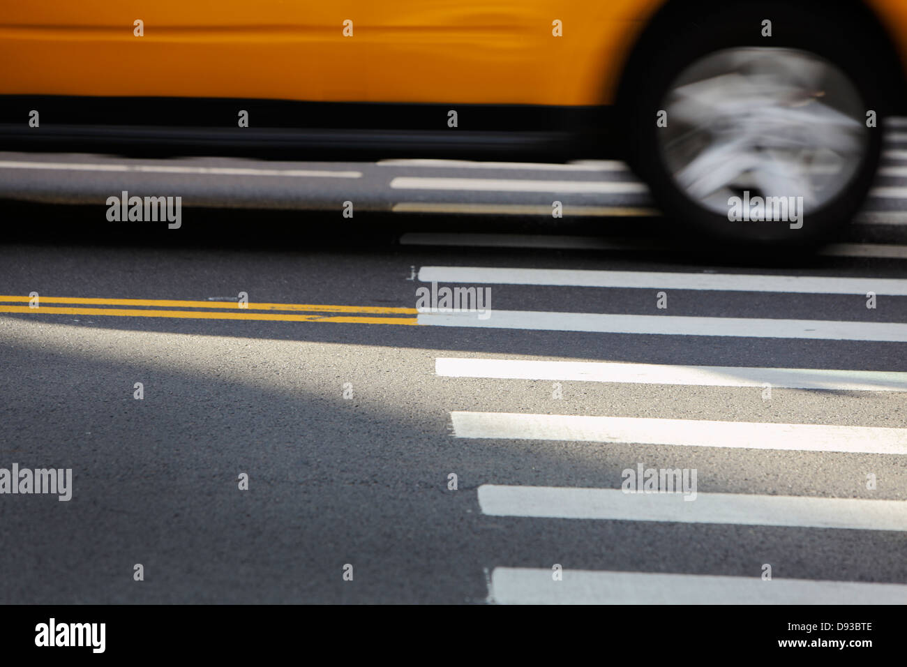 crosswalk - Stock Image