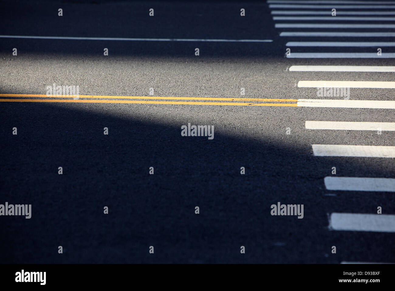 crosswalk - Stock Image