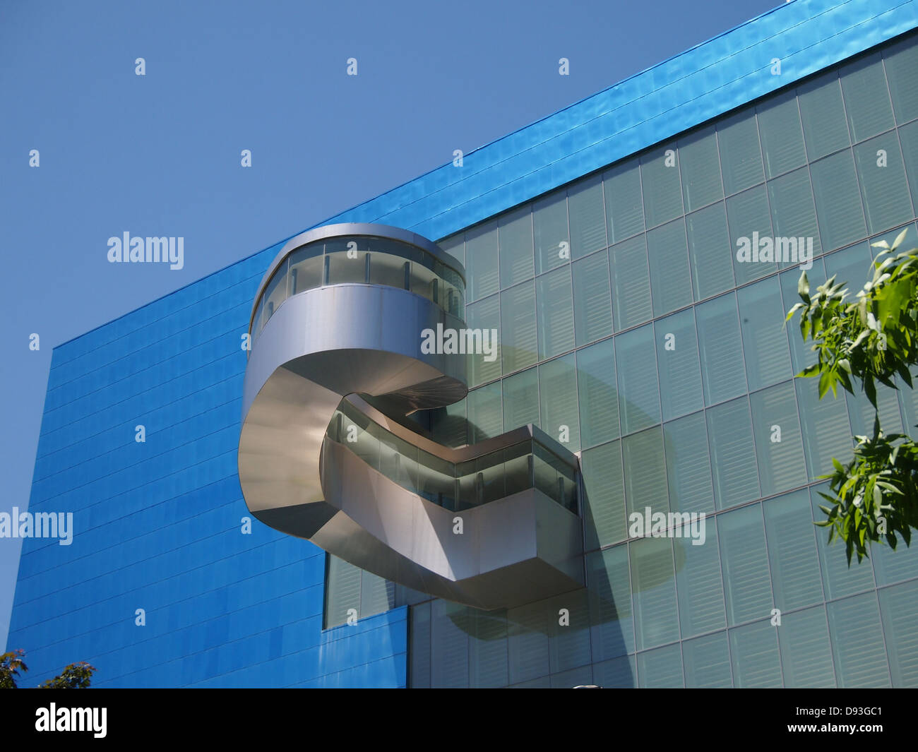 Art Gallery of Ontario Frank Gehry addition - Stock Image