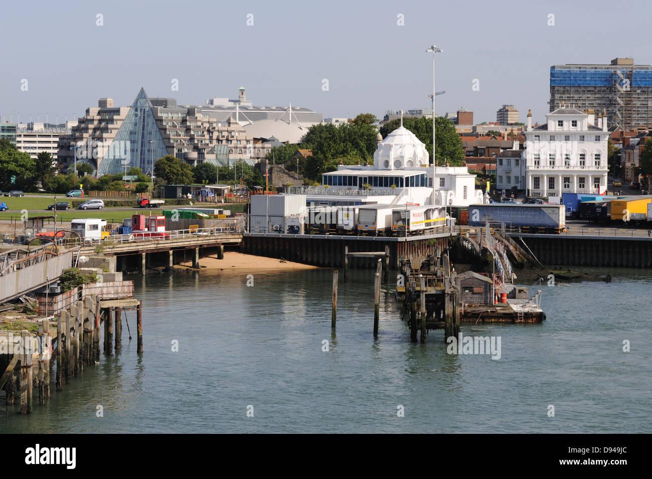 Southampton Port, Hampshire, UK - Stock Image