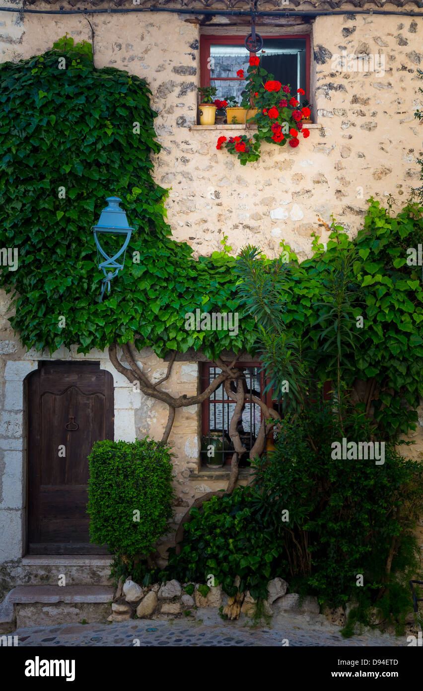 House in Saint Paul de Vence in France - Stock Image