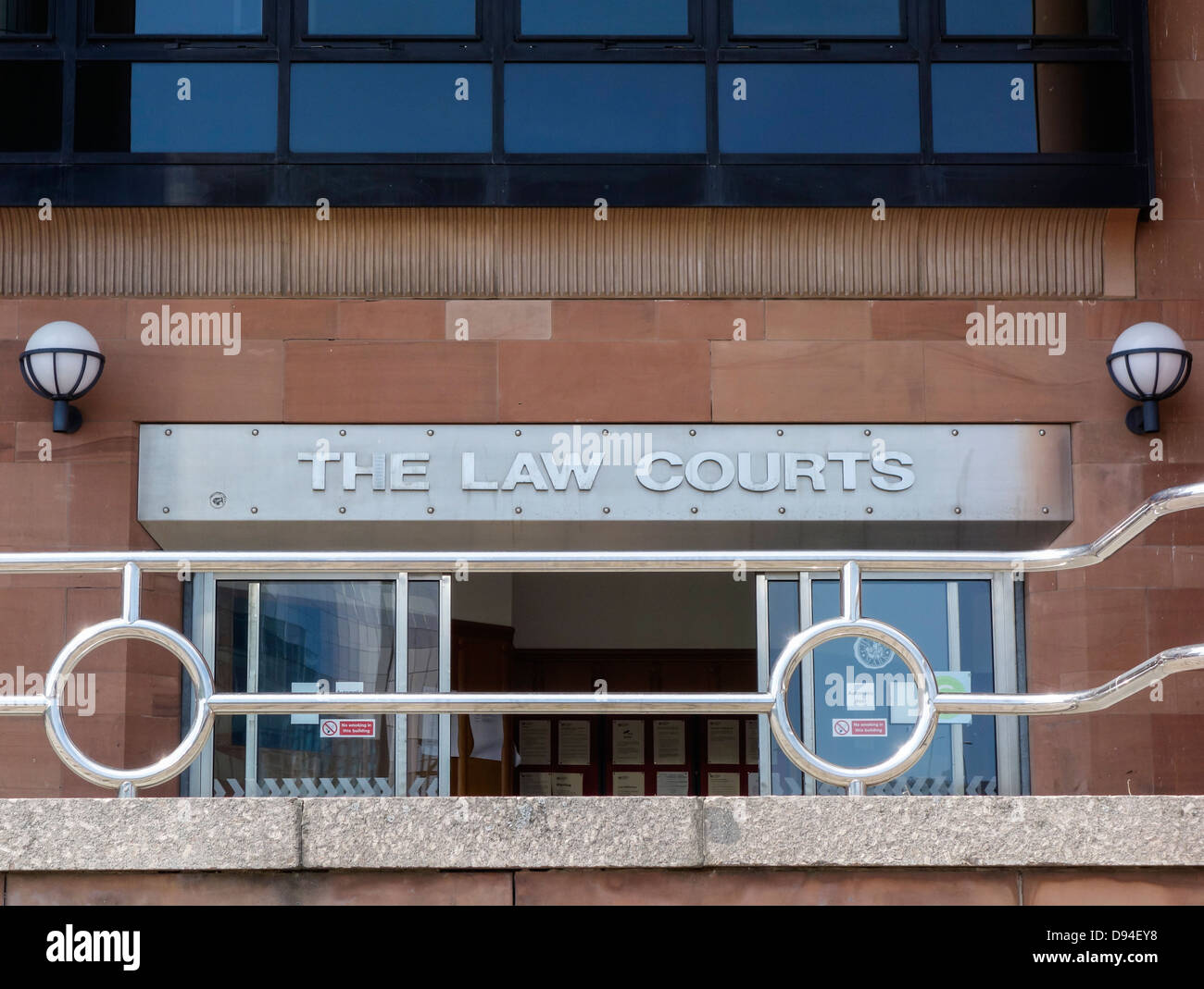 Combined Law Courts (Crown court) on Newcastle Quayside. Newcastle upon Tyne, England,UK - Stock Image