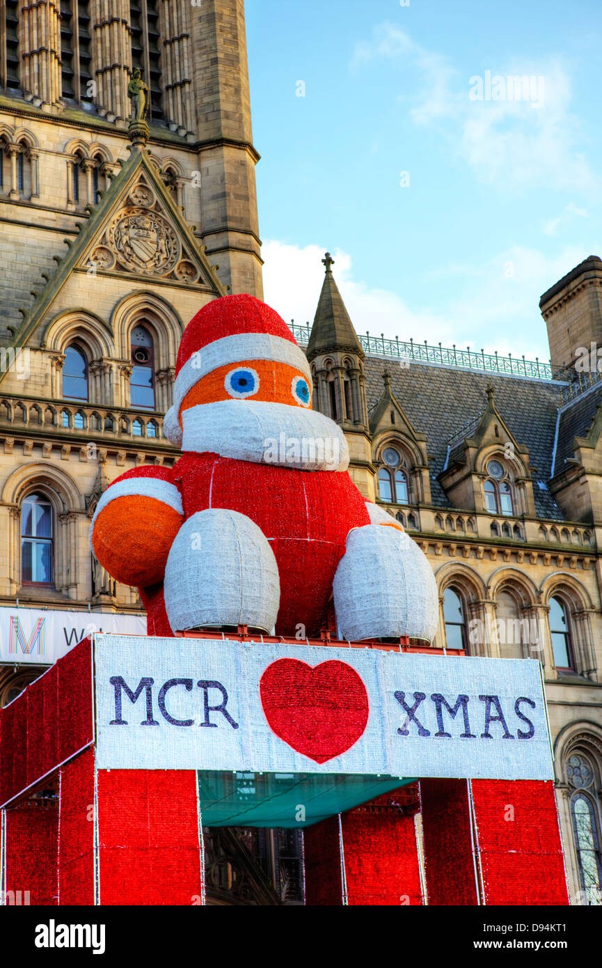 Christmas time in Manchester, UK. - Stock Image