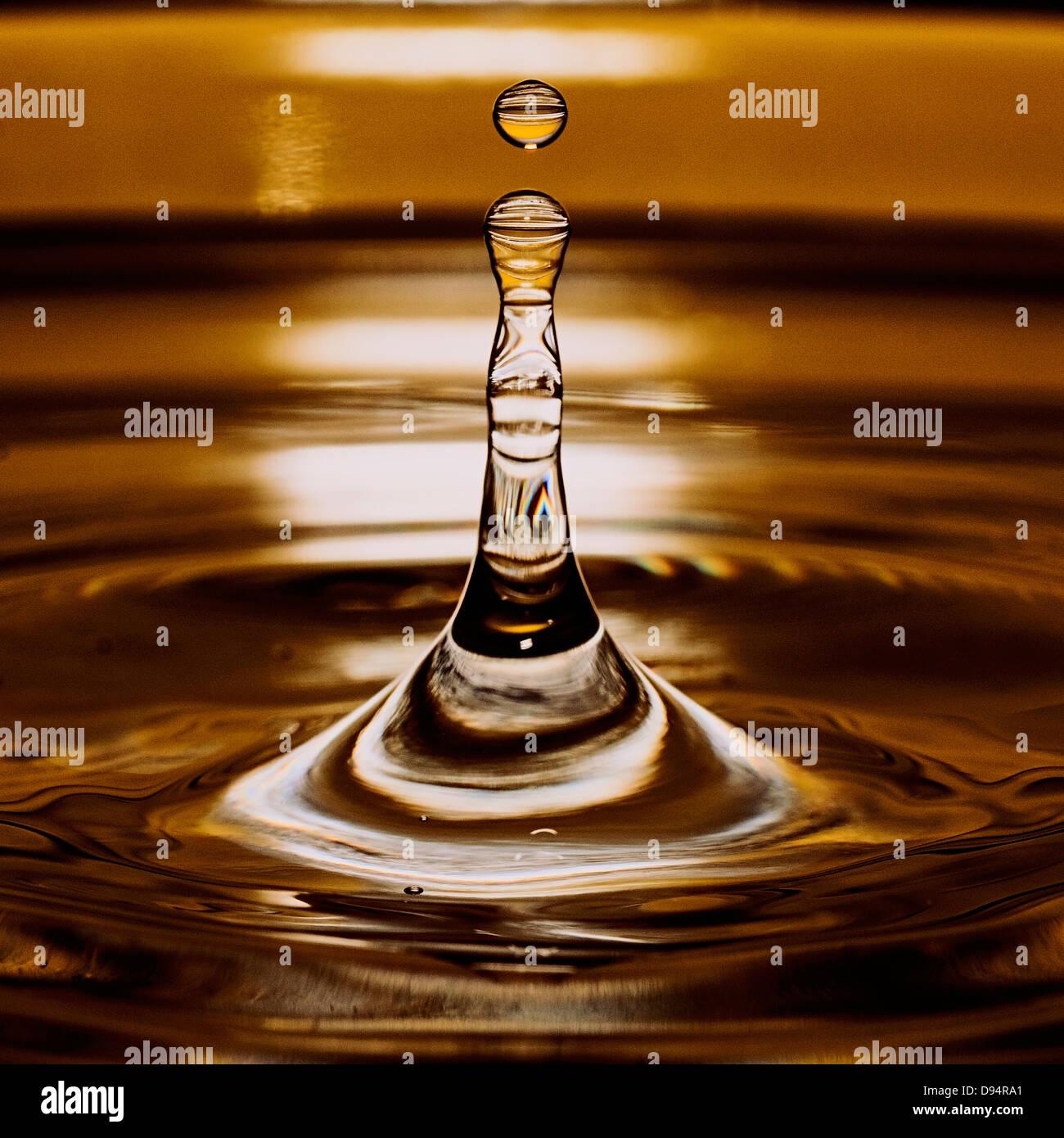 waterdrop - Stock Image