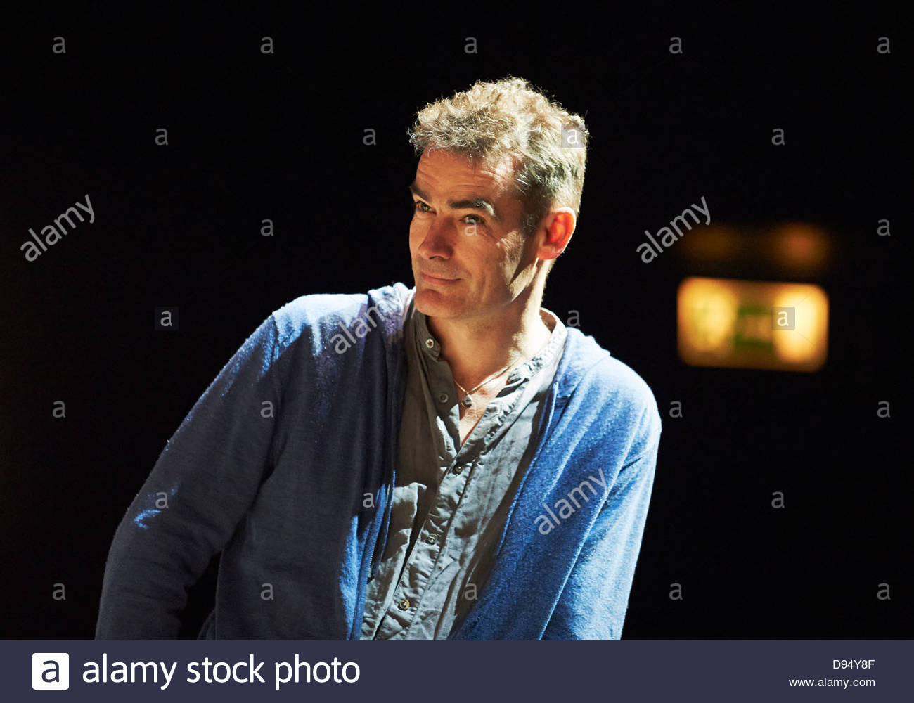 Rufus Norris director of The Amen Corner by James Baldwins at The Olivier Theatre at The Royal National Theatre - Stock Image