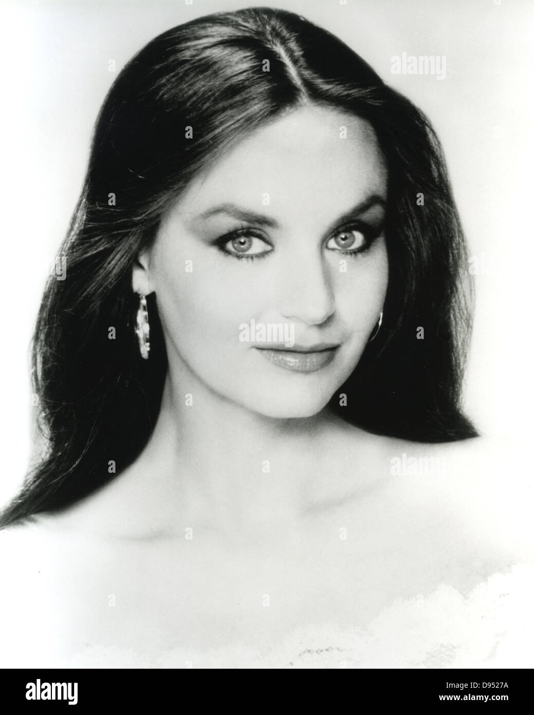 CRYSTAL GAYLE {Promotional photo of US Country singer about 1975 - Stock Image
