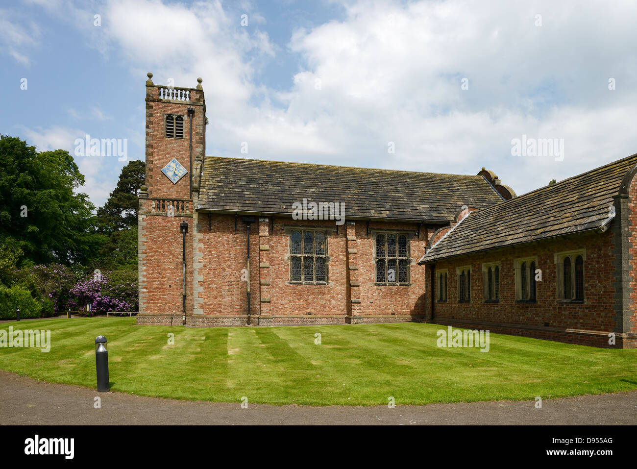 The Chapel at Tabley House near Knutsford Cheshire UK - Stock Image