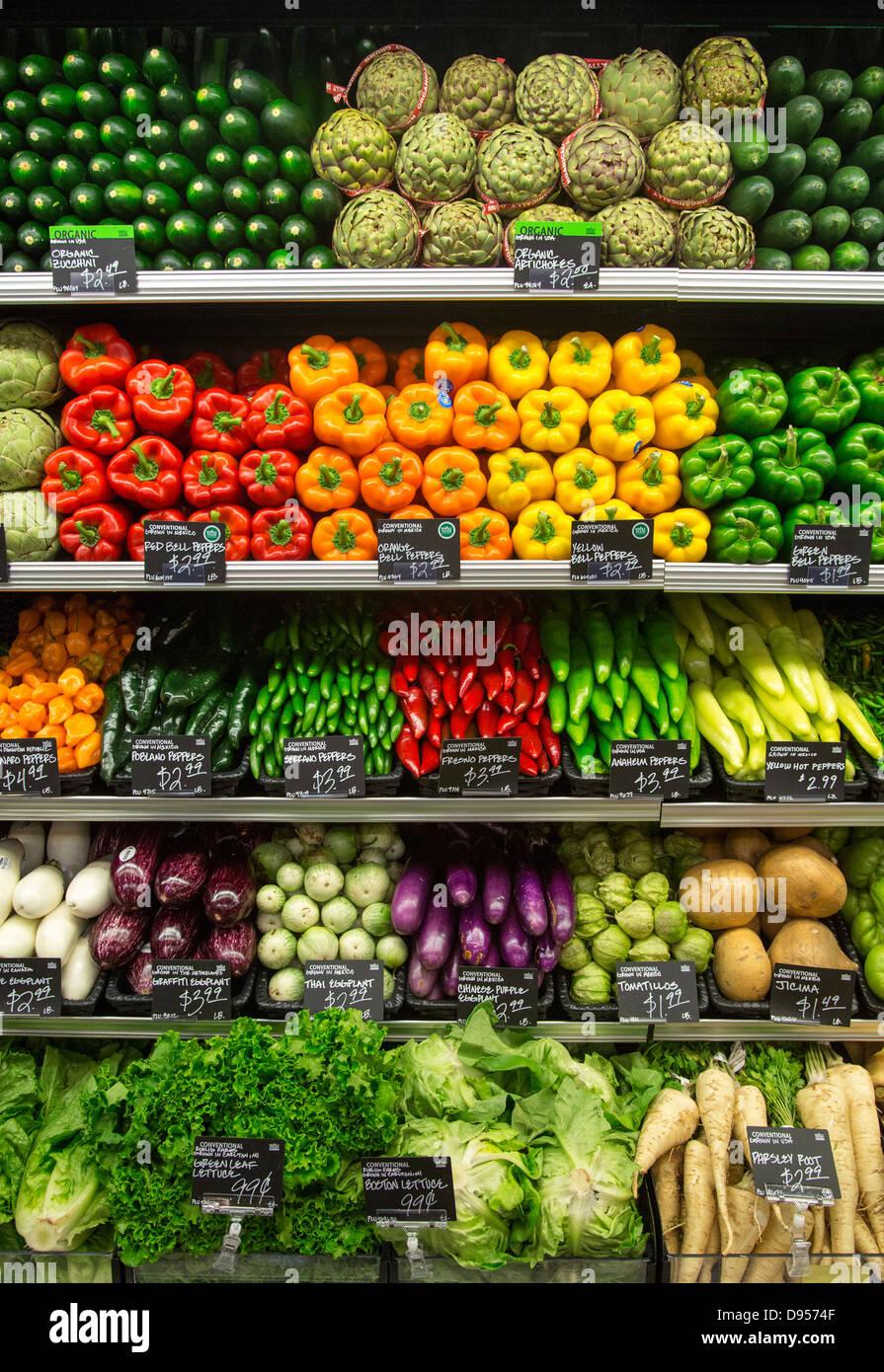 Whole Foods Market - Stock Image