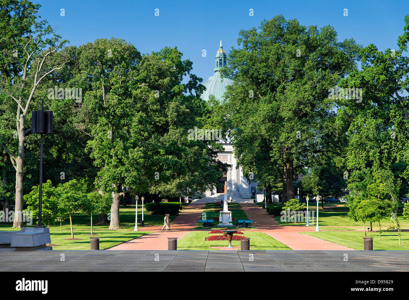 The United States Naval Academy Chapel, Annapolis, Maryland, USA. 1908 - Stock Image