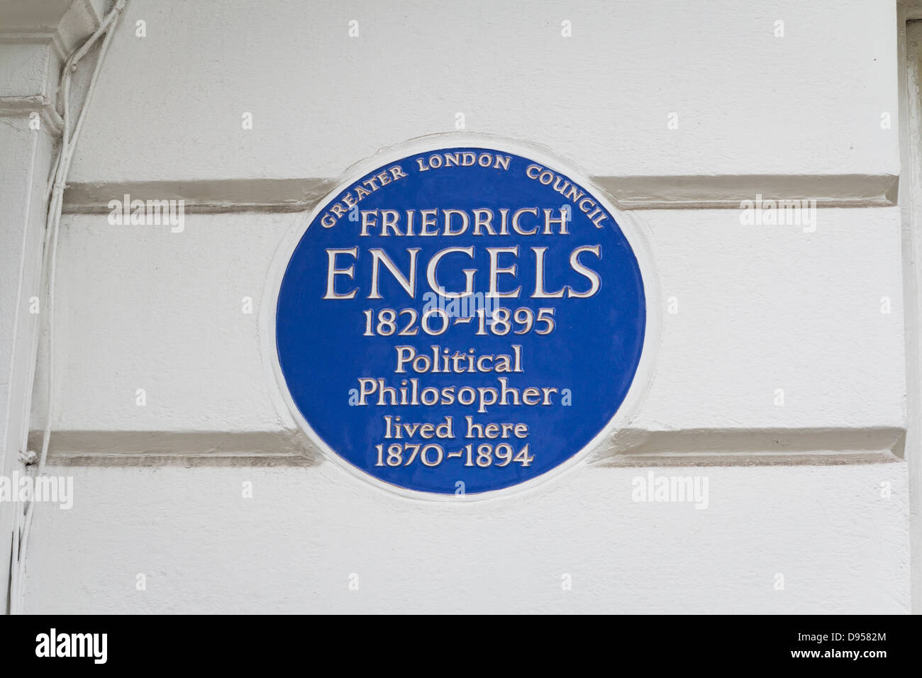 Blue Plaque Stock Photos and Images