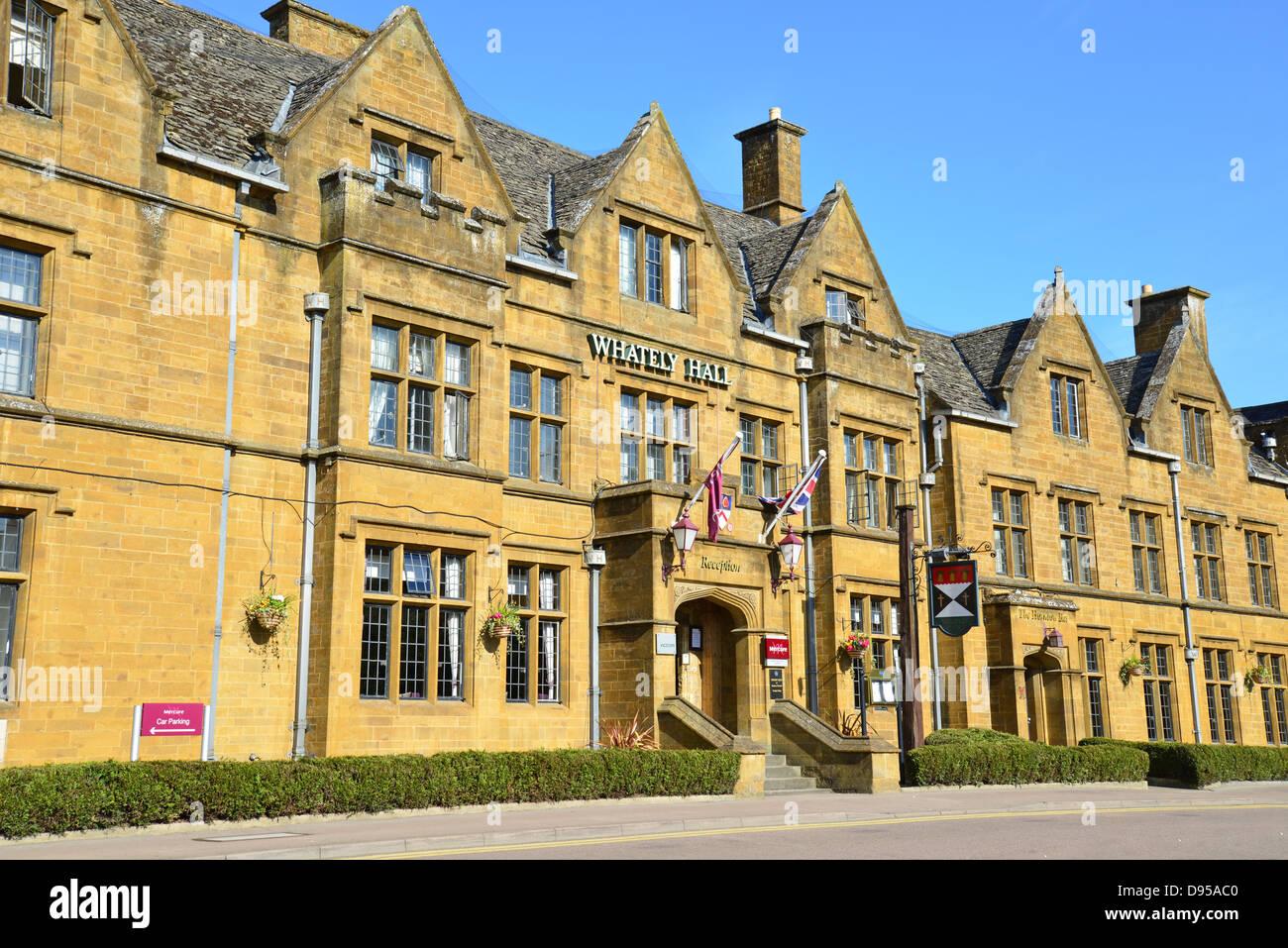 Mercure Banbury Whately Hall Hotel, Horse Fair, Banbury, Oxfordshire, England, United Kingdom - Stock Image