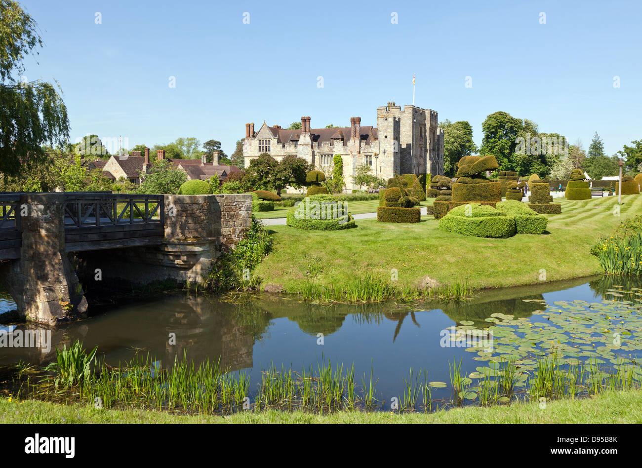 Hever Castle Kent UK - Stock Image