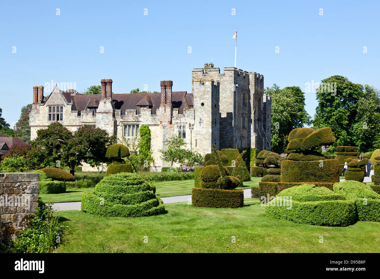 Hever Castle Kent UK - Stock Image