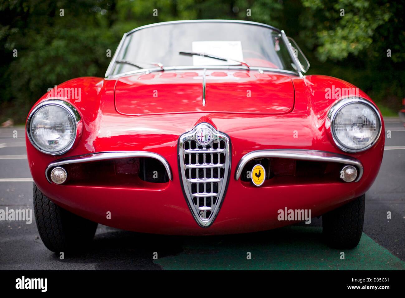 Vintage Alfa Romeo >> Vintage Alfa Romeo Stock Photo 57282401 Alamy