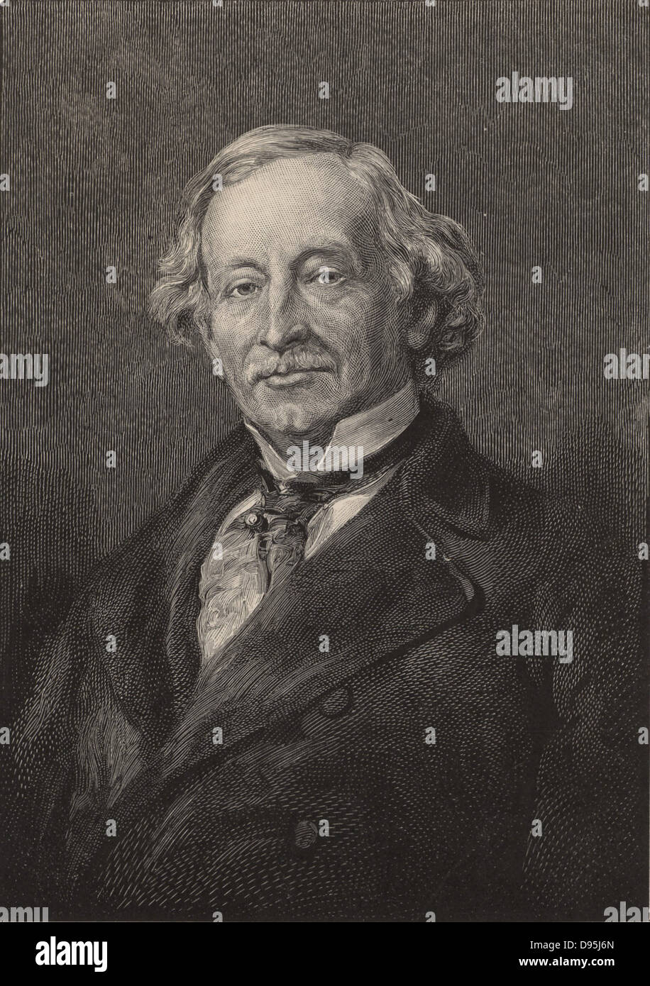 Charles Upham Shepard (1804-1886), American mineralogist and specialist in meteorites, born in Little Compton, Rhode - Stock Image