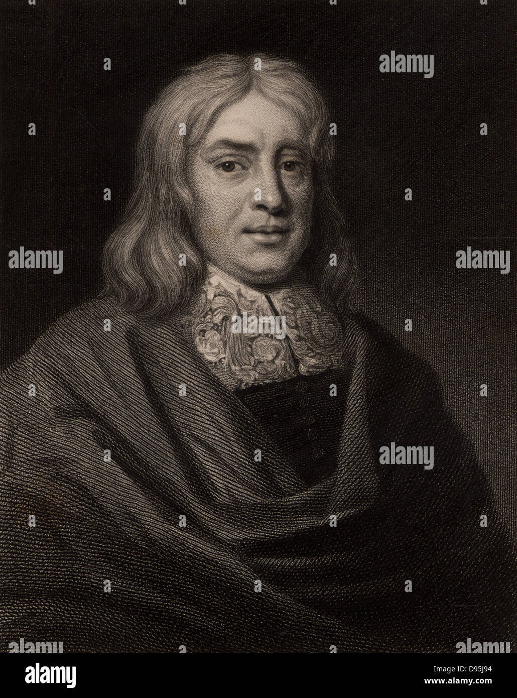 Thomas Sydenham (1624-1689) English physician born at Wynford Eagle, Dorset.  In his medical practice he separated - Stock Image
