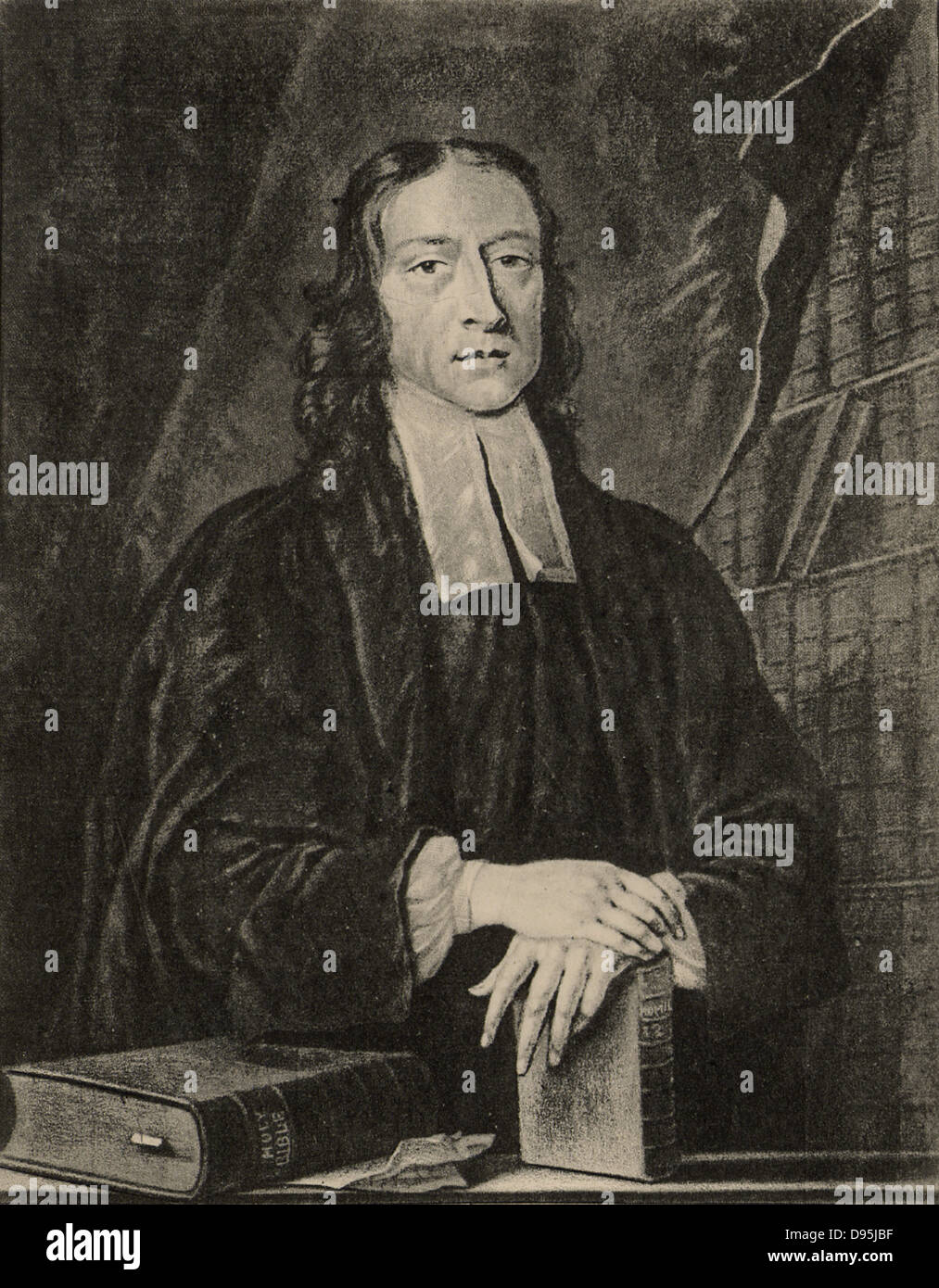 John Wesley (1703-1791) English non-conformist preacher. Founder of  Methodism. - Stock Image