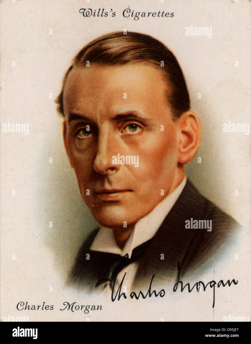 Charles Langbridge Morgan (1894-1958), British novelist playwright and critic.  In 1926 he was appointed principal - Stock Image