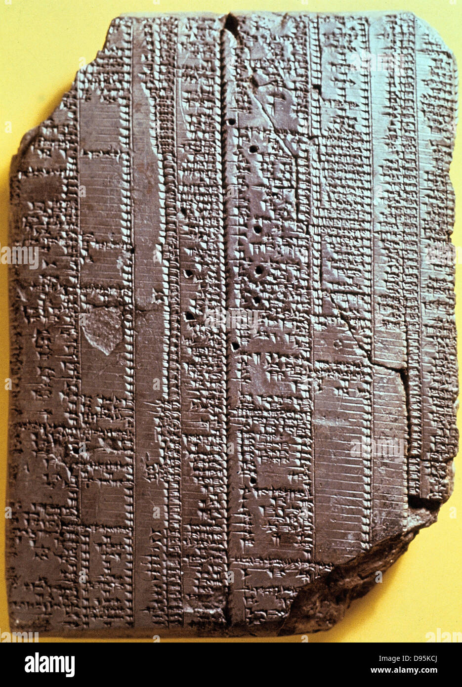 Phenomenal Babylonian Clay Tablet With Text 7Th Century Bc Table With Home Interior And Landscaping Transignezvosmurscom