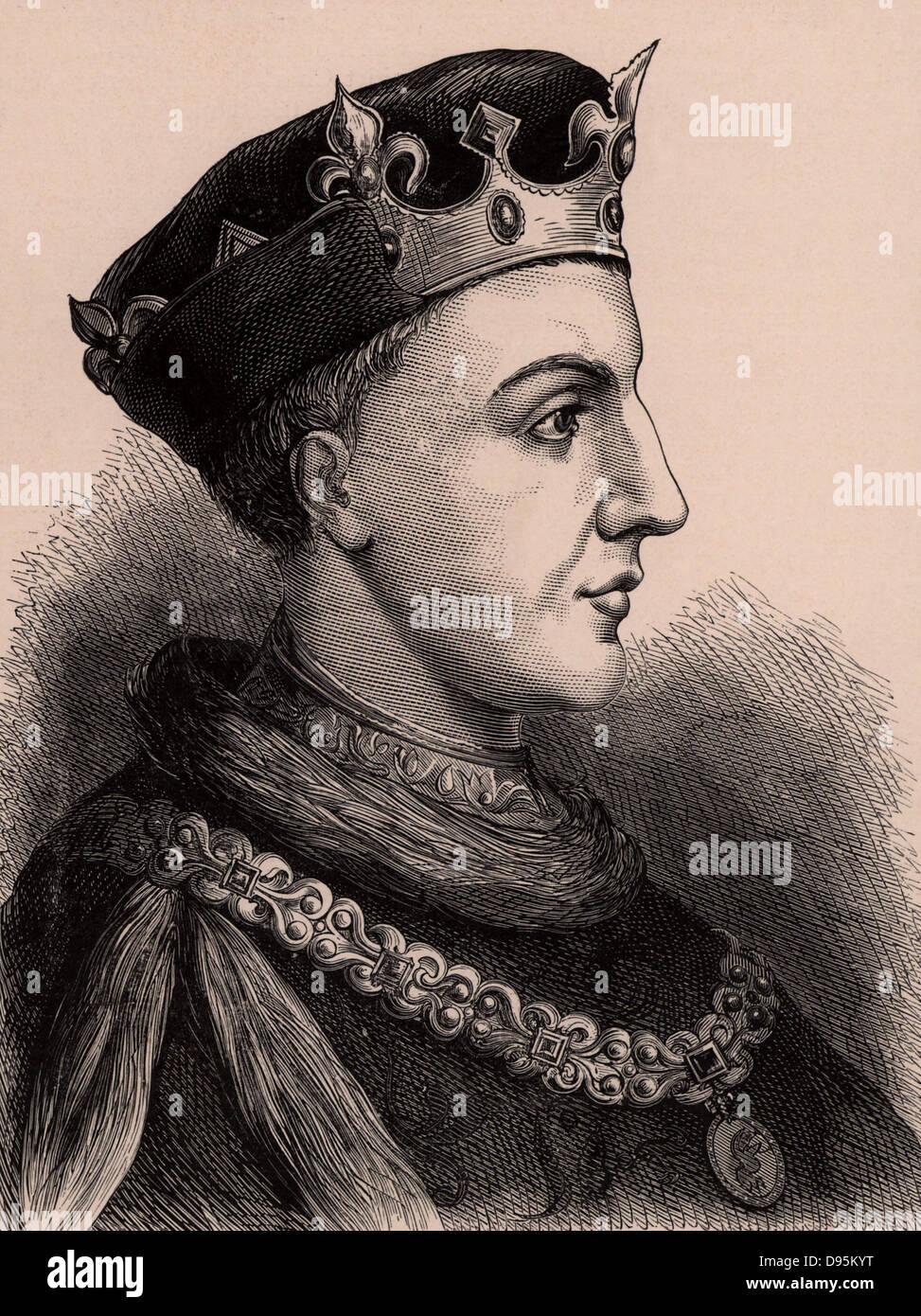 Henry V (1387-1422) king of En...