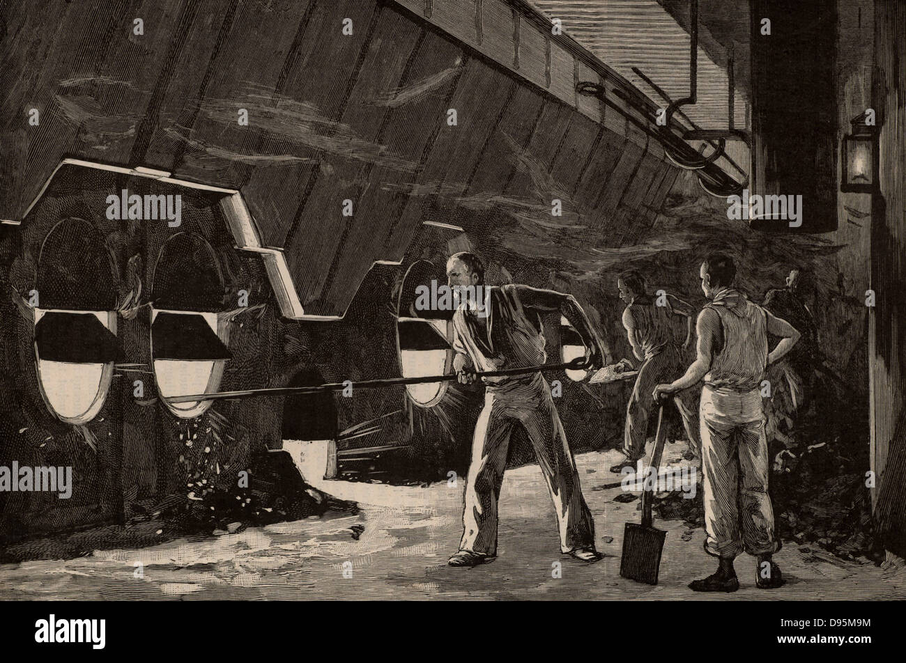Titanic Boiler Room Workers