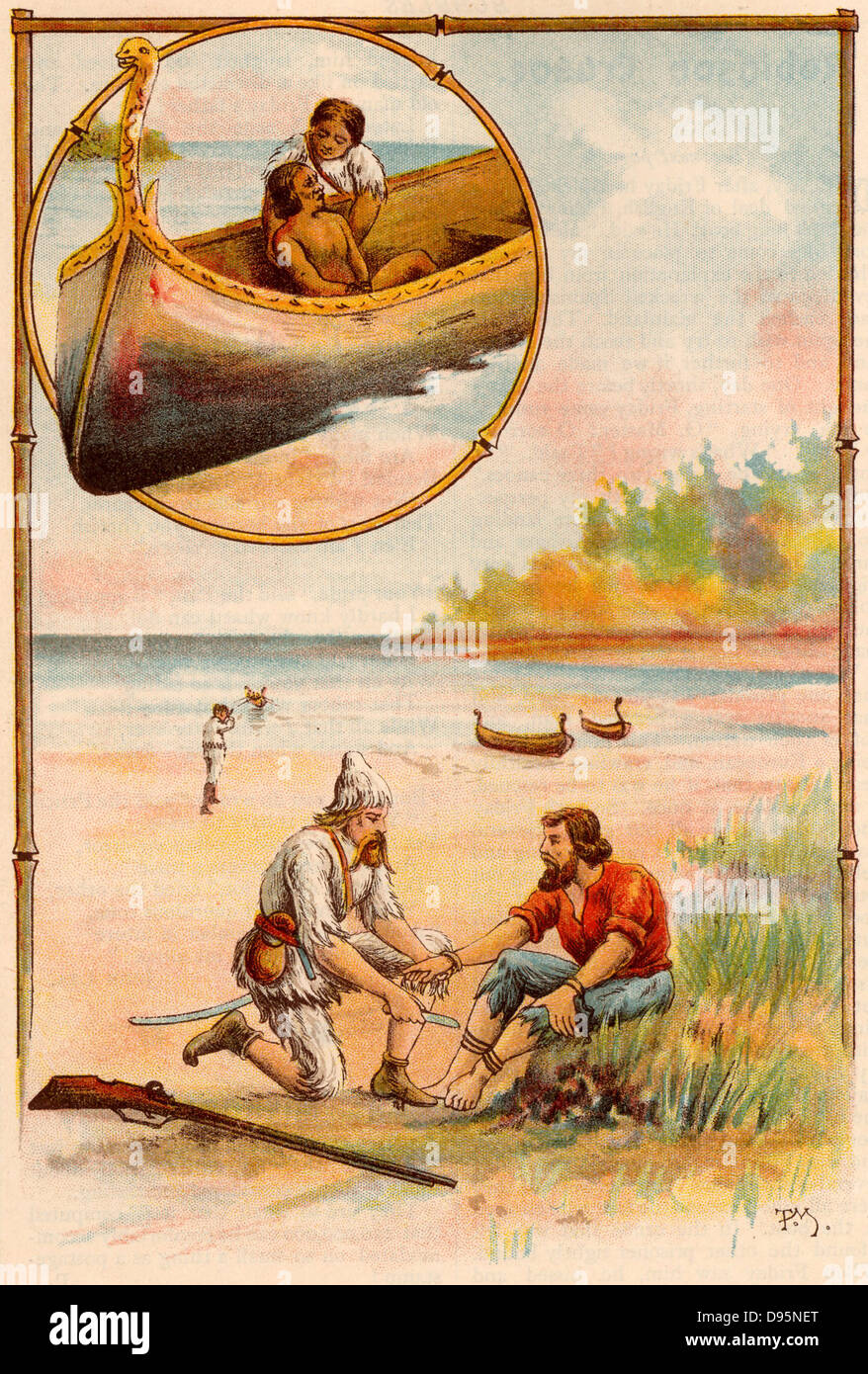 the interpretation of robinson crusoes adventures The life and strange surprizing adventures of robinson crusoe, of york, mariner: who lived eight and twenty years, all alone in an un-inhabited island on .