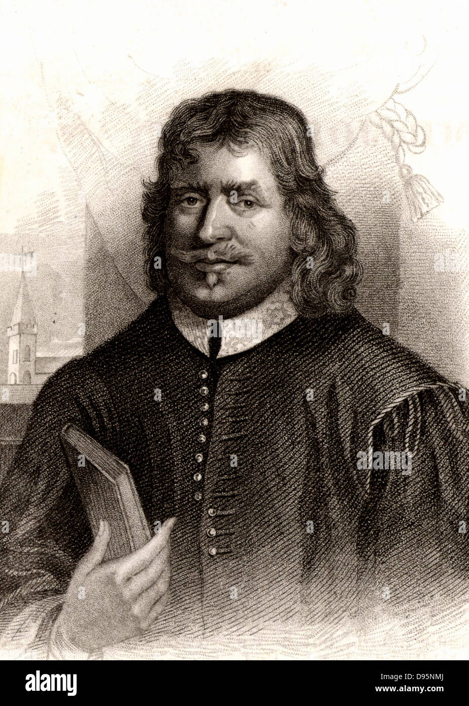 John Bunyan (1628-1688) English Puritan preacher.  Author of 'The Pilgrim's Progress' (London, 1678). - Stock Image