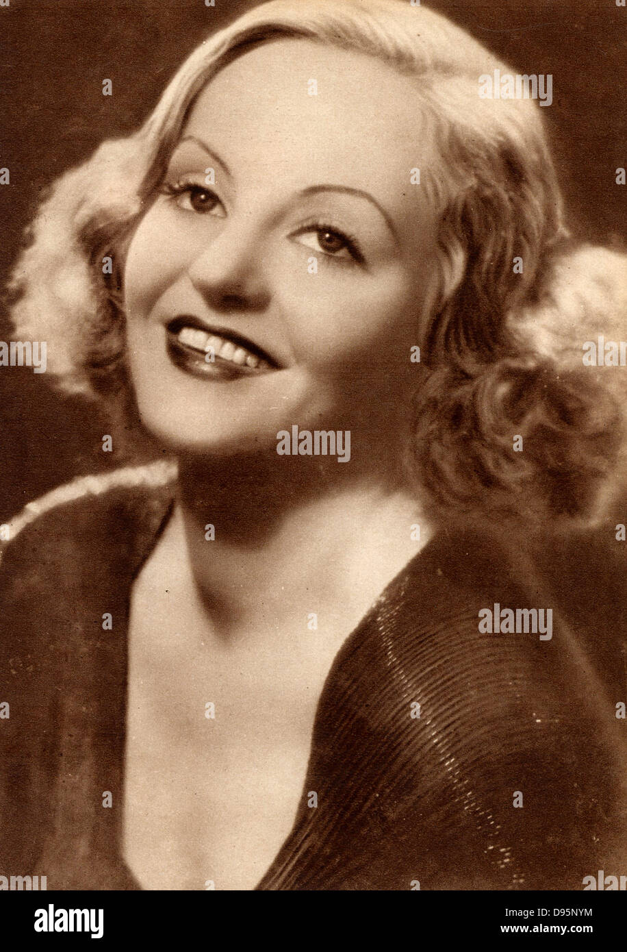 Tallulah Bankhead (1903-1968) American actress and film star. - Stock Image