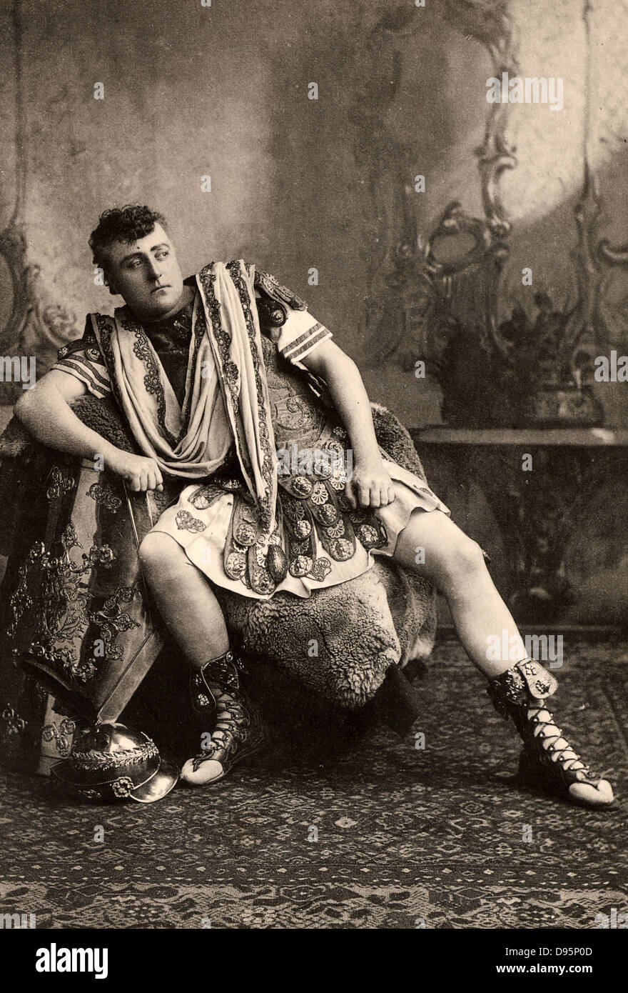 (George) Osmond Tearle (1852-1901) English actor-manager and fine Shakespearian actor. Tearle here as the name part - Stock Image