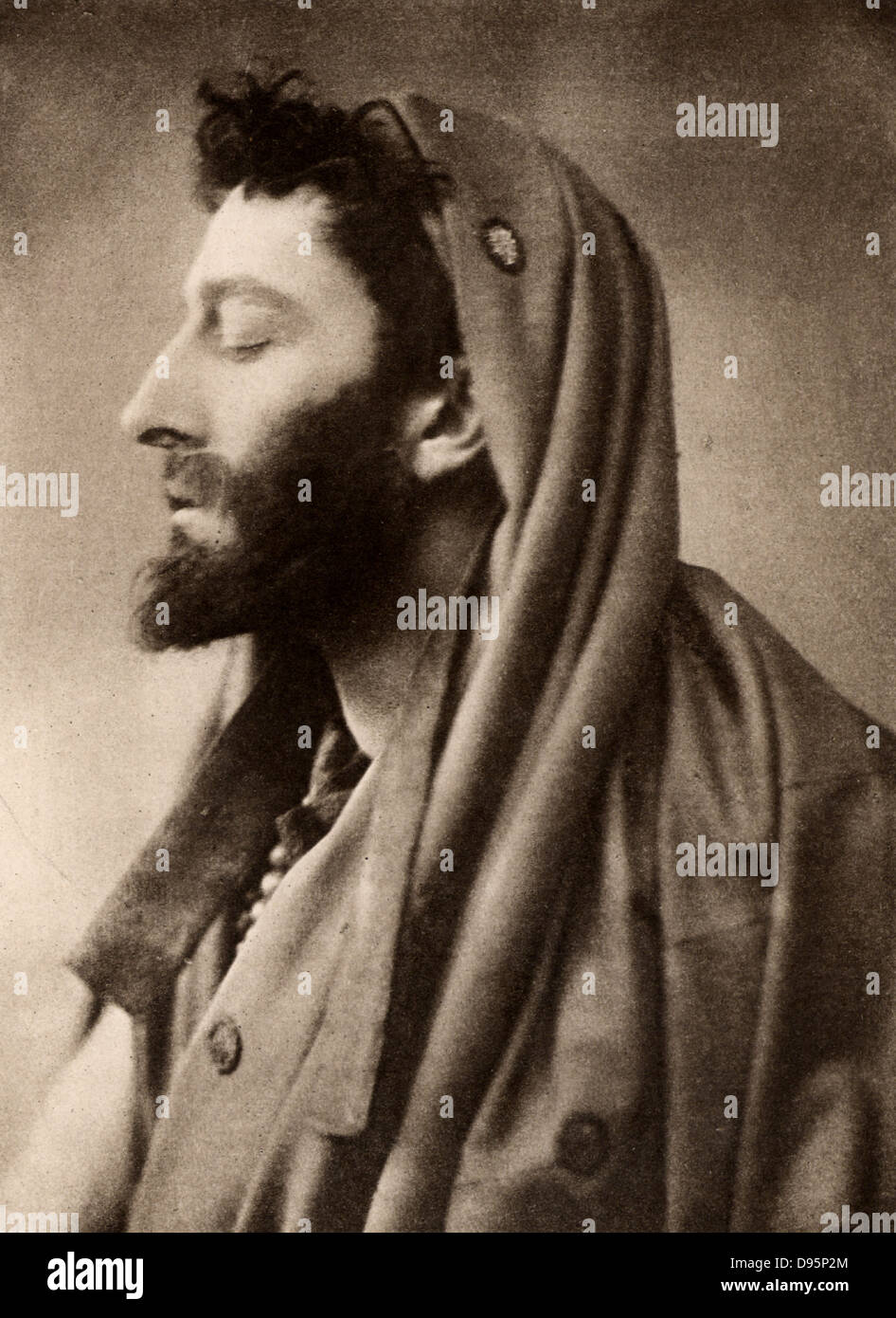 Johnson Forbes-Robertson (1853-1937) English actor-manager. Knighted in 1913. Here as Leontes in 'The Winter's - Stock Image