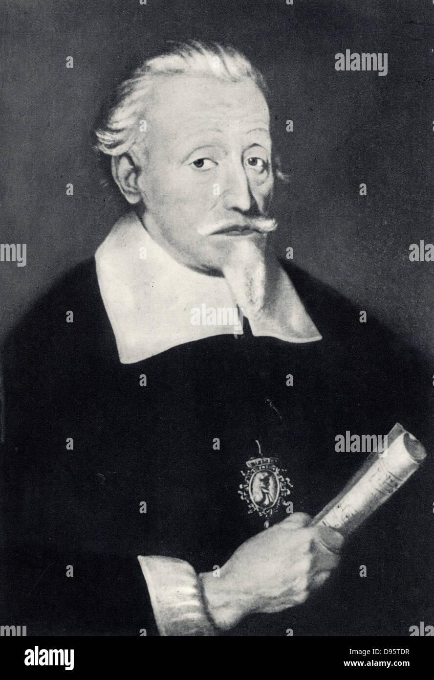 Heinrich Schutz (1585-1672) German composer. - Stock Image